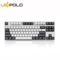 嗨购国庆 : Leopold 利奥博德 FC750R PD版 87键 机械键盘 Cherry红轴 Sky配色