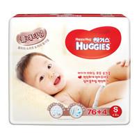 HUGGIES 好奇 铂金装 婴儿纸尿裤 S76+4片 *2件