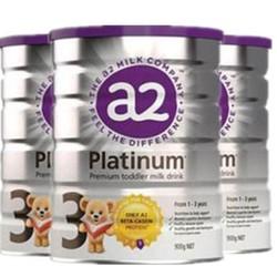 a2 艾尔 白金系列 婴幼儿配方奶粉 3段 1-3岁 900g 3罐装