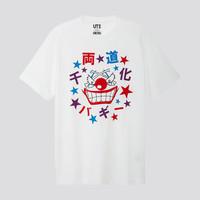 优衣库×海贼王联名款ONE PIECE男女同款 短袖印花T恤 422343  (M)