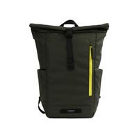 TIMBUK2美国天霸 双肩包TUCK卷口背包运动休闲包商务大容量包15.6英寸电脑包男女 军绿色/黄绿色