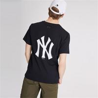MLB POPPING 大LOGO短袖T恤 NY 男女情侣款 夏季潮流休闲时尚T恤 31TSS3931