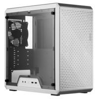 酷冷至尊(CoolerMaster)MasterBox Q300L 白色版 迷你机箱(M-ATX/配两块防尘网/透明侧板/支持长显卡)