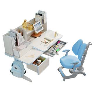 历史低价 : HbadaStudy time 黑白调学习时光 HZH017024US 儿童学习桌椅套装