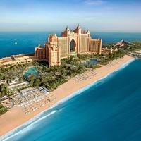酒店控 : 阿联酋 迪拜 棕榈岛 亚特兰蒂斯酒店 住宿+早晚餐+水族馆+水世界门票