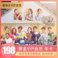 爱奇艺vip会员12个月,爱奇艺黄金年卡,不支持TV端 手机号充值
