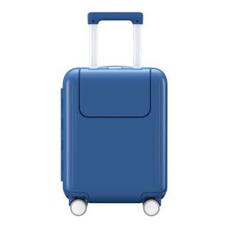 小米(MI)米兔儿童拉杆箱 男女万向轮行李箱旅行箱 17英寸 海军蓝