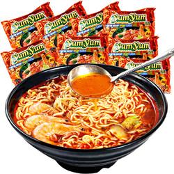 泰国进口养养yumyum冬阴功方便面泡面酸辣虾味浓汤10包速食食品