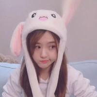 rvk 会动的兔子帽 4款可选