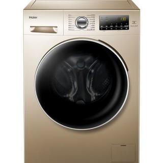 嗨购国庆、历史低价 : Haier 海尔 EG8014HB39GU1 8公斤 变频 洗烘一体 滚筒洗衣机