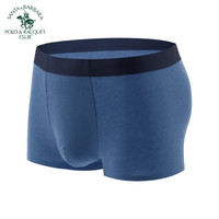 圣大保罗 PU-2295 圣大保罗男士内裤蚕丝蛋白内裤 深蓝 L