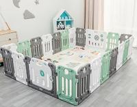 丘巴 婴儿防护栏16小片 门栏 游戏栏