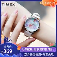 美国TIMEX/天美时手表女时尚休闲正品石英满天星dw女表TW2R66500