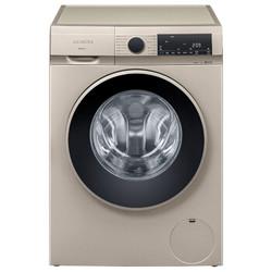 西门子(SIEMENS) 10公斤 变频滚筒洗衣机 升级外观 智感洗涤 智能添加(金色) XQG100-WG54A1A30W