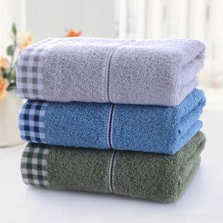 京东PLUS会员 : LOFTEX 亚光 纯棉素色毛巾 72*34cm*100g 3条装  *7件