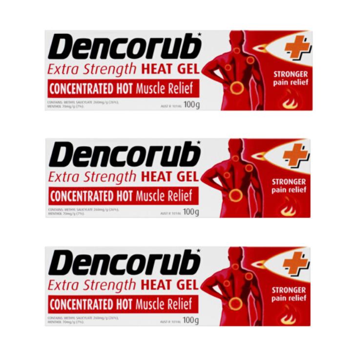 Dencorub 热敷按摩啫哩膏 100g