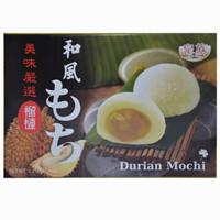 中国台湾进口 皇族牌和风榴莲麻薯 麻糬糕点零食 台湾伴手礼 210g/盒 *14件