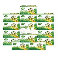 小宝贝抽纸 婴儿卫生纸巾餐巾纸擦手纸面巾纸企业团购4层加厚27包 *8件