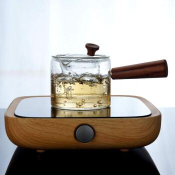 Le Bronte 朗特乐  手工侧把玻璃茶壶 430ml