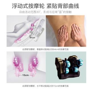 松下(Panasonic)按摩椅家用全身电动滑躺设计精选推荐EP-MA04-V492烟灰紫