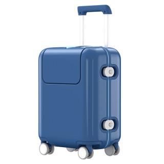 小米 米兔儿童拉杆箱 男女万向轮行李箱旅行箱 17英寸 海军蓝