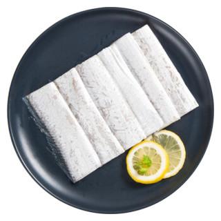 鲜美来 东海带鱼中段 7-9段 420g *9件