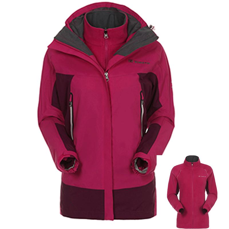 TOREAD 探路者 三合一加厚保暖冲锋衣