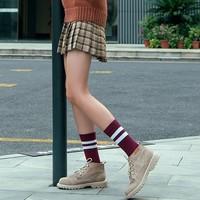 OICI 女士中筒堆堆袜 6双装