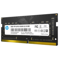 HP 惠普 S1 DDR4 2666MHz 笔记本内存 8GB
