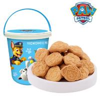亿智 小猪佩奇零食大礼包曲奇饼干牛奶味桶装礼盒 (400g、牛奶味)