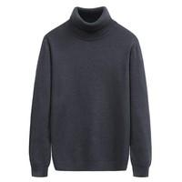 yaloo 雅鹿 Y6011916003-1 男士高领针织衫