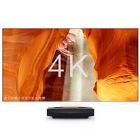 XGIMI 极米 A2 4K激光电视 含100吋菲涅尔抗光屏