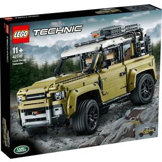 LEGO 乐高 TECHNIC科技系列 42110 小颗粒拼插积木玩具 路虎卫士