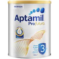 Aptamil 爱他美 白金版 婴幼儿奶粉 3段 900g 3罐装