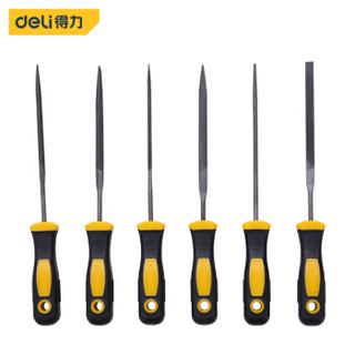 deli 得力 得力(deli) 锉刀组套整形锉刀什锦锉打磨工具6件套3x140mm DL2141