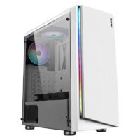 航嘉 GS500X 电脑机箱台式DIY全侧透RGB游戏水冷ATX大板机箱背线