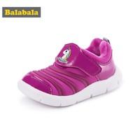balabala巴拉巴拉 儿童运动鞋 冬季12月-36月 轻便毛毛虫鞋