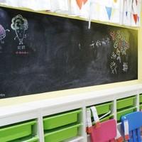 学威 家用黑板贴 45*100cm 黑/绿/白可选