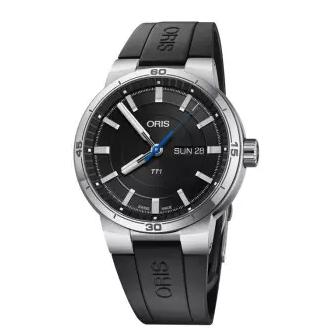 ORIS 豪利时 73577524154RS 男士自动机械手表 42mm 不锈钢 圆形