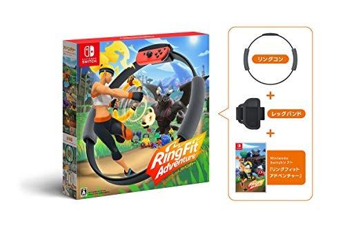 Nintendo 任天堂《健身环大冒险》NS游戏套装 中文(需黑卡)
