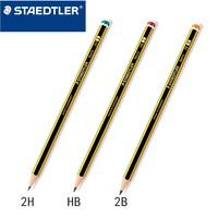 STAEDTLER 施德楼 120 小蜜蜂黄杆铅笔 HB 12支/盒