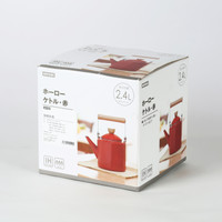 NITORI 珐琅搪瓷木柄水壶2.4L