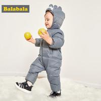 巴拉巴拉 婴儿连体衣 羽绒服