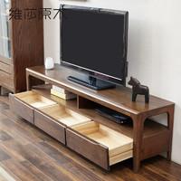 VISAWOOD 维莎原木 日式纯全实木电视柜
