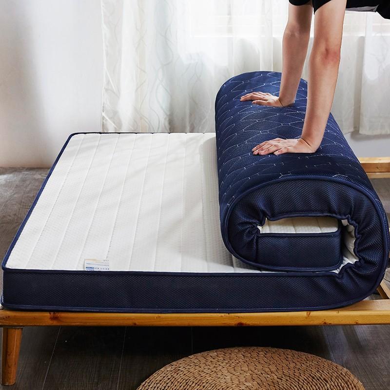 移动专享:制梦家纺 乳胶海绵榻榻米床垫 90*200*10cm