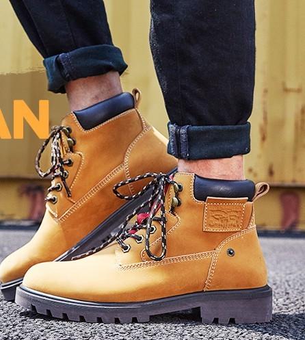 Levi's 李维斯 22876079474 男士工装鞋