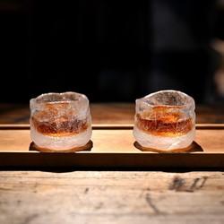 XILING 喜领 纯手工冰冻烧琉璃杯