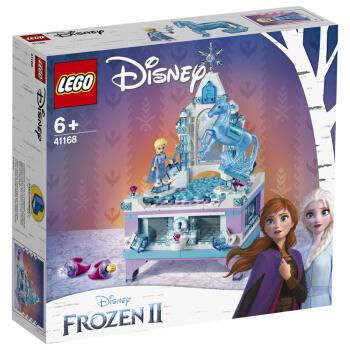 LEGO 乐高 迪士尼公主系列 41168 艾莎的创意珠宝盒