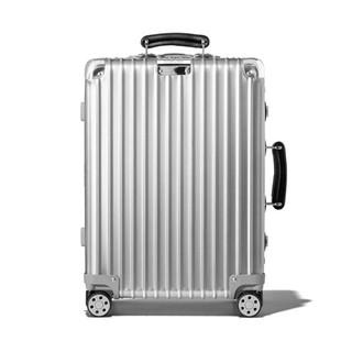 【现货直邮】RIMOWA 日默瓦 Classic Cabin 21寸/36L 拉杆箱/旅行箱/行李箱  21寸(36L) 972.53.00.4(Silver)