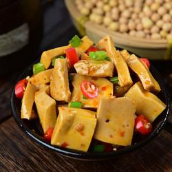 涨停板Q弹手磨玉米豆腐干小包零食散装500g麻辣五香多味休闲小吃